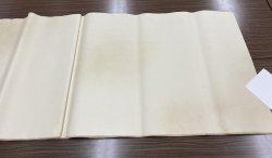 画像1: No.101 楮紙No.1 全体ボカシ 古代茶 2尺×6尺 (5枚)